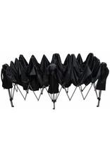 Garden Royal Garden Royal Partytent Easy Up 3x6m opvouwbaar zwart