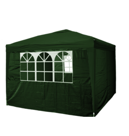 Garden Royal Garden Royal Partytent 3x3m Easy Up groen met 4 zijwanden
