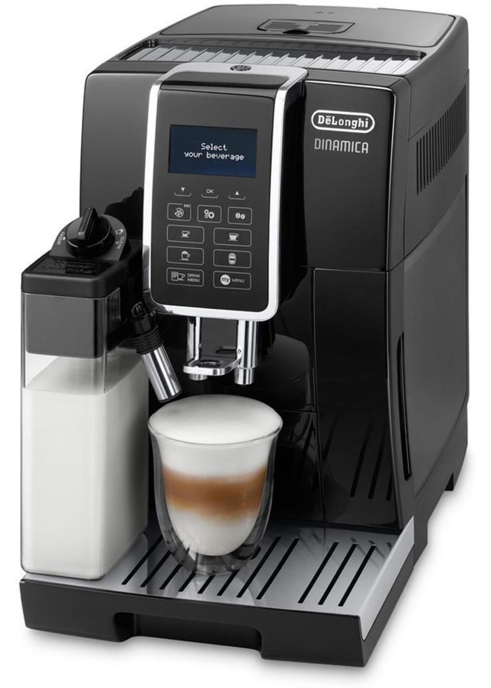DeLonghi DeLonghi ECAM 350.55.B Dinamica Espressomachine Zwart