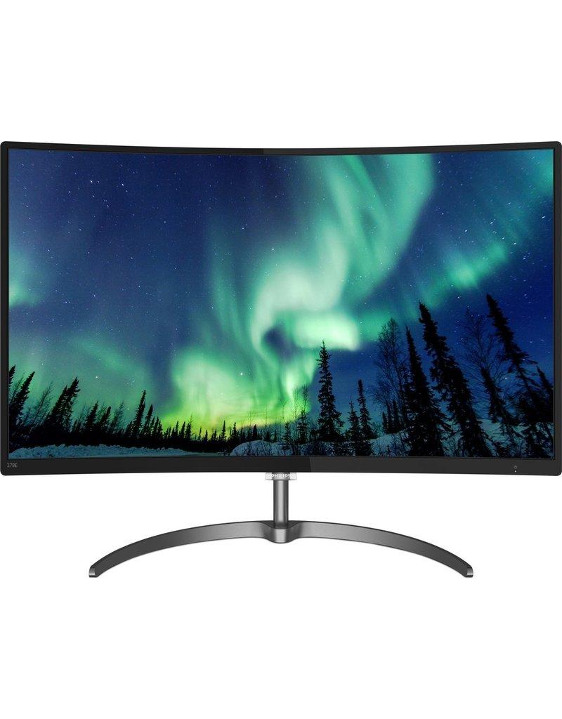 Philips Philips 278E8QJAB/00 27'' Full HD VA Glans Zwart computer monitor