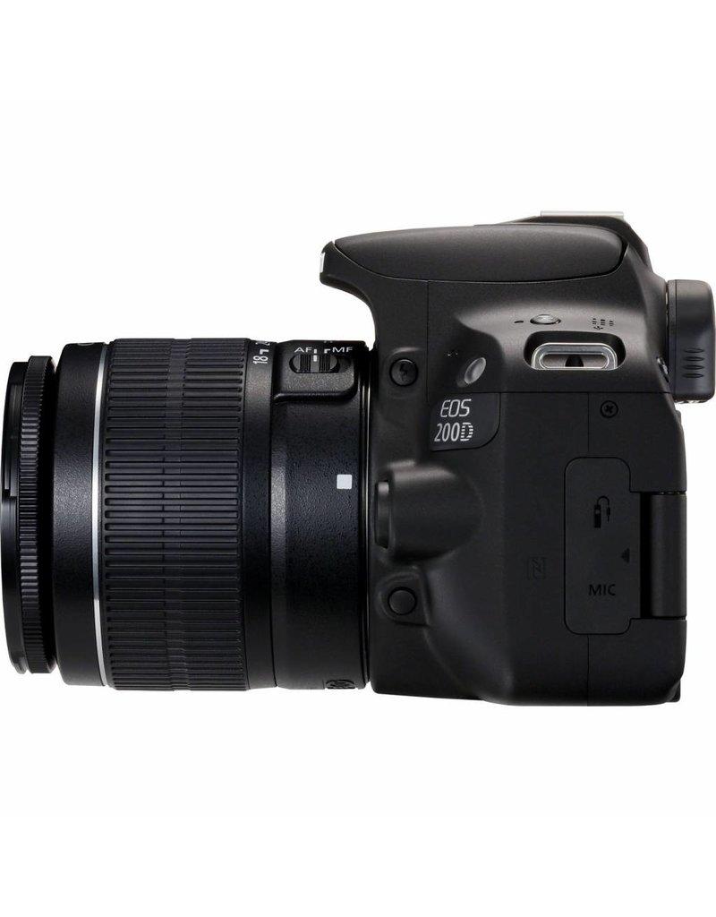 Canon Canon EOS 200D   EF-S 18-55mm f/3.5-5.6 III SLR camerakit 24.2MP CMOS 6000 x 4000Pixels Zwart