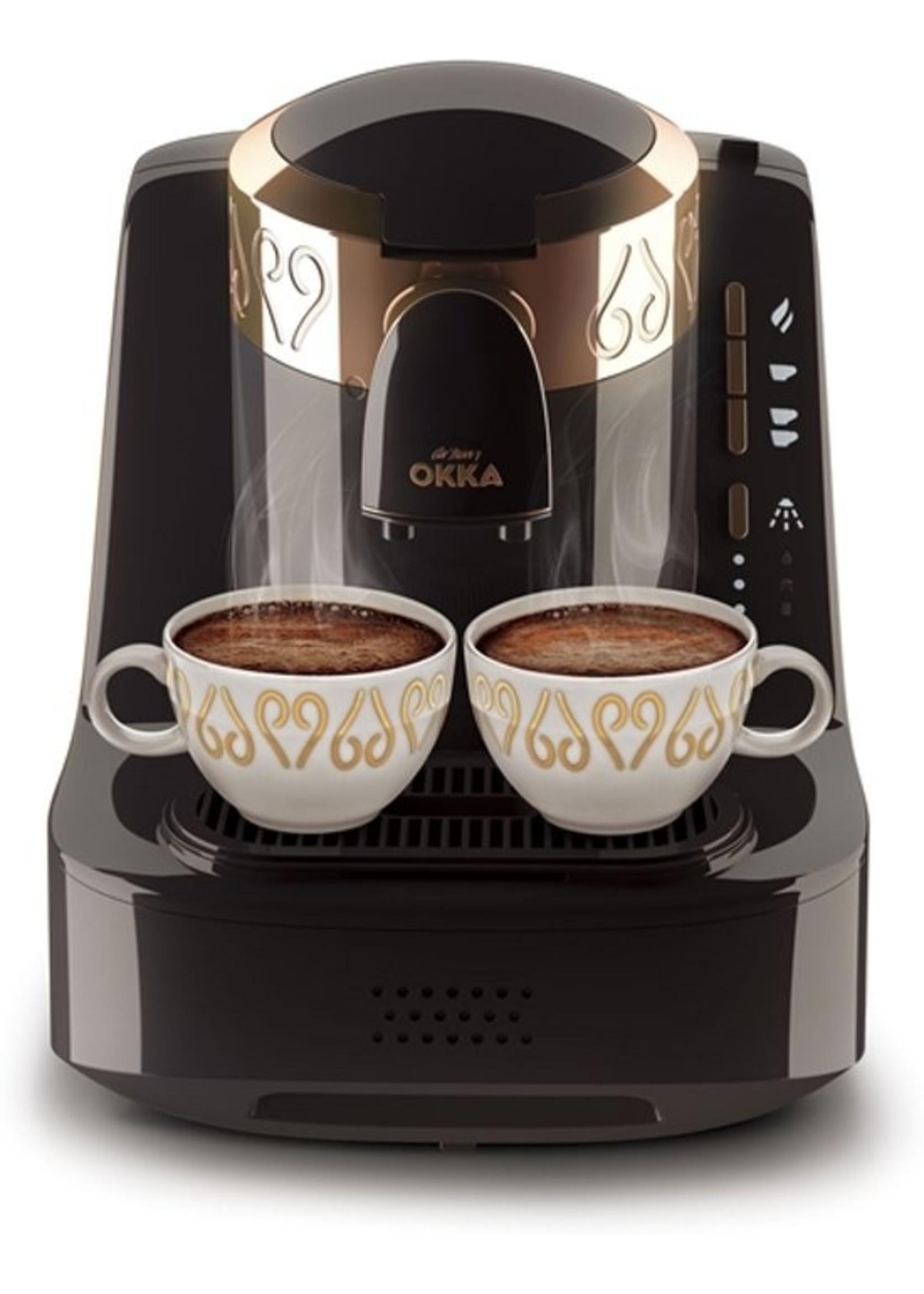 Arzum Arzum Okka Turks koffiezetapparaat 0.95l Zwart, Brons