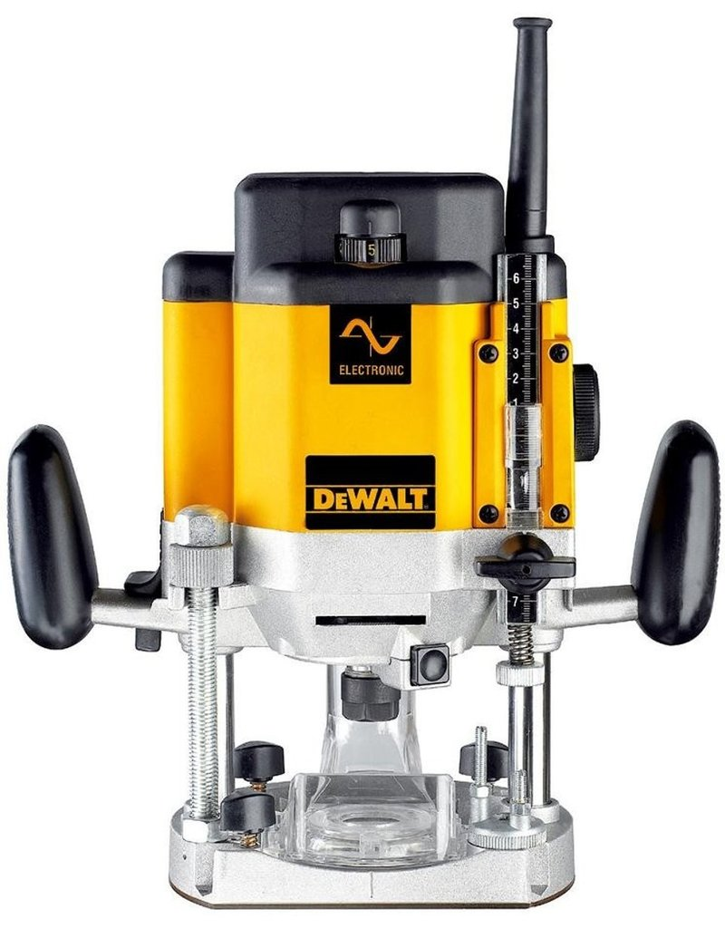DeWALT Dewalt Bovenfreesmachine electronisch 2000W DW625E-QS