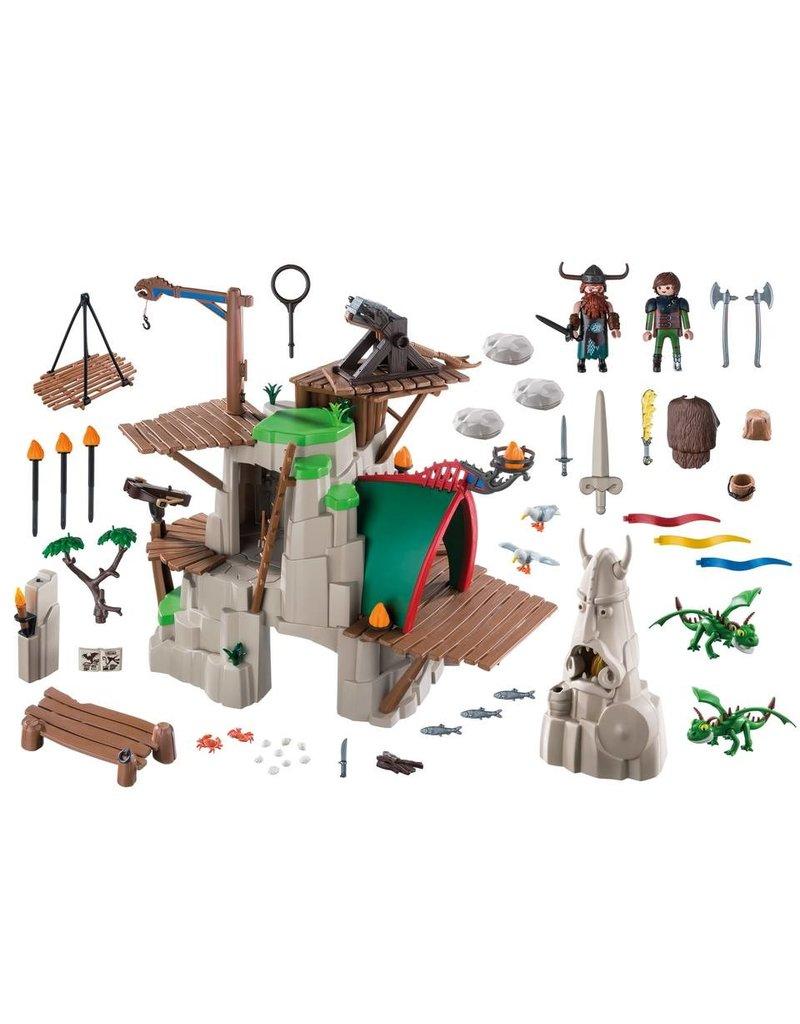 Playmobil Playmobil 9243 Dragons Berk Koopjeshoek