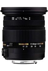 Sigma Sigma 17-50mm - f/2.8 EX DC OS HSM - geschikt voor Canon koopjeshoek