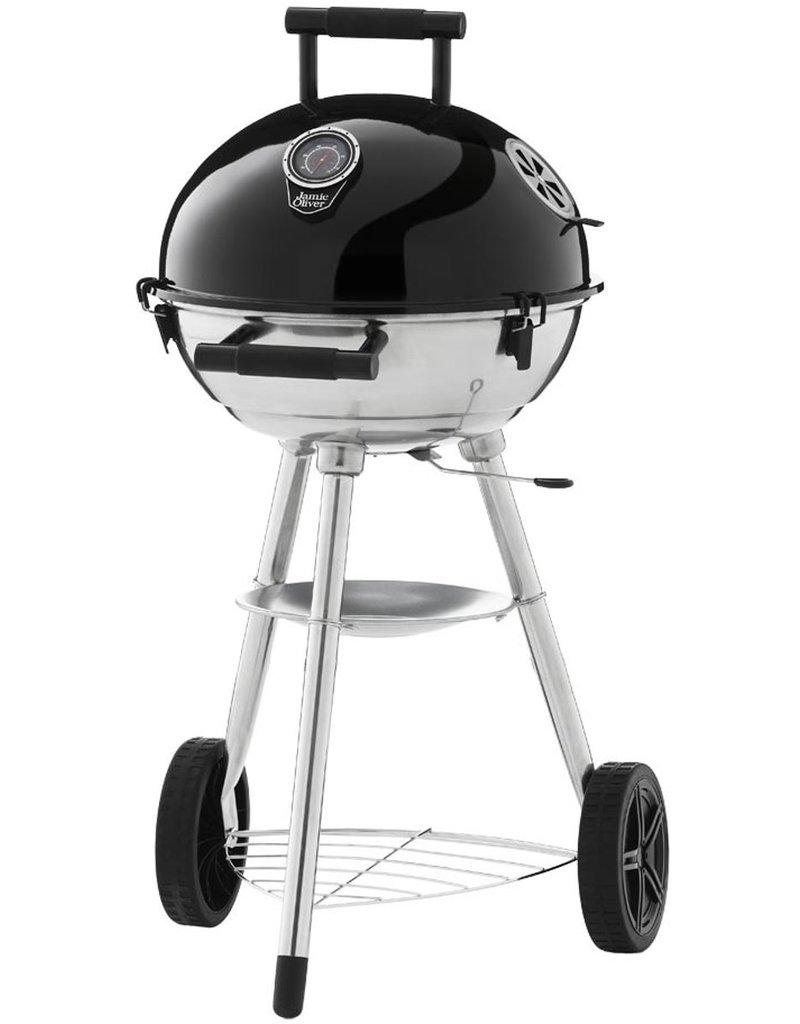 Jamie Oliver Sizzler One Kogelbarbecue - Verrijdbaar - Kolen - Zwart