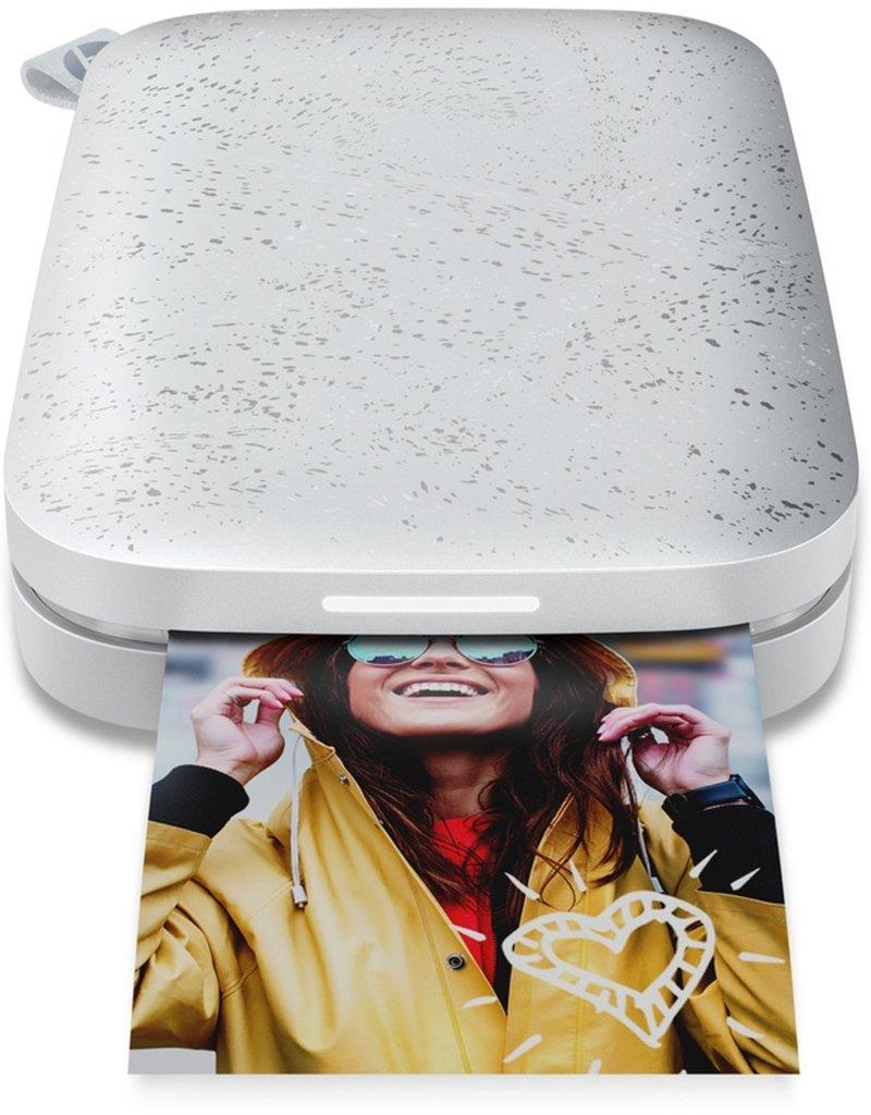 HP Sprocket 200 - Mobiele Fotoprinter - Luna Pearl koopjeshoek