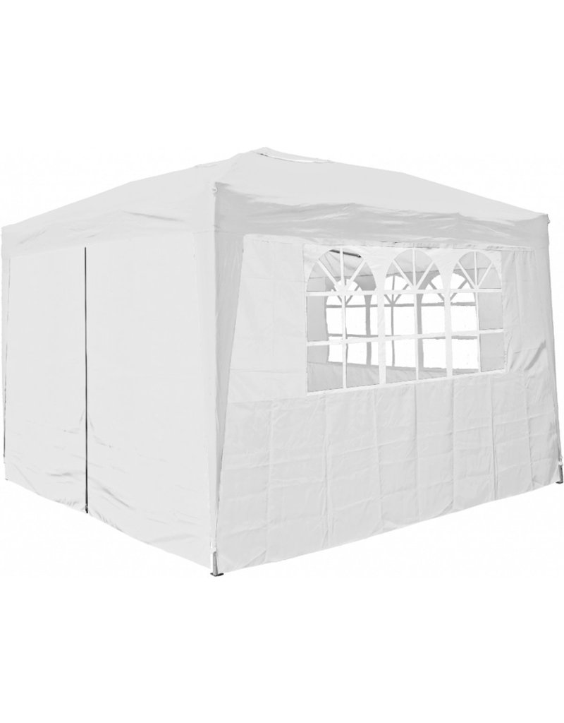 Garden Royal Garden Royal Partytent 3x3m Easy Up wit met 4 zijwanden koopjeshoek (A)