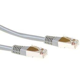 IIGLO Netwerkkabel CAT5E F/UTP 3 meter - Grijs