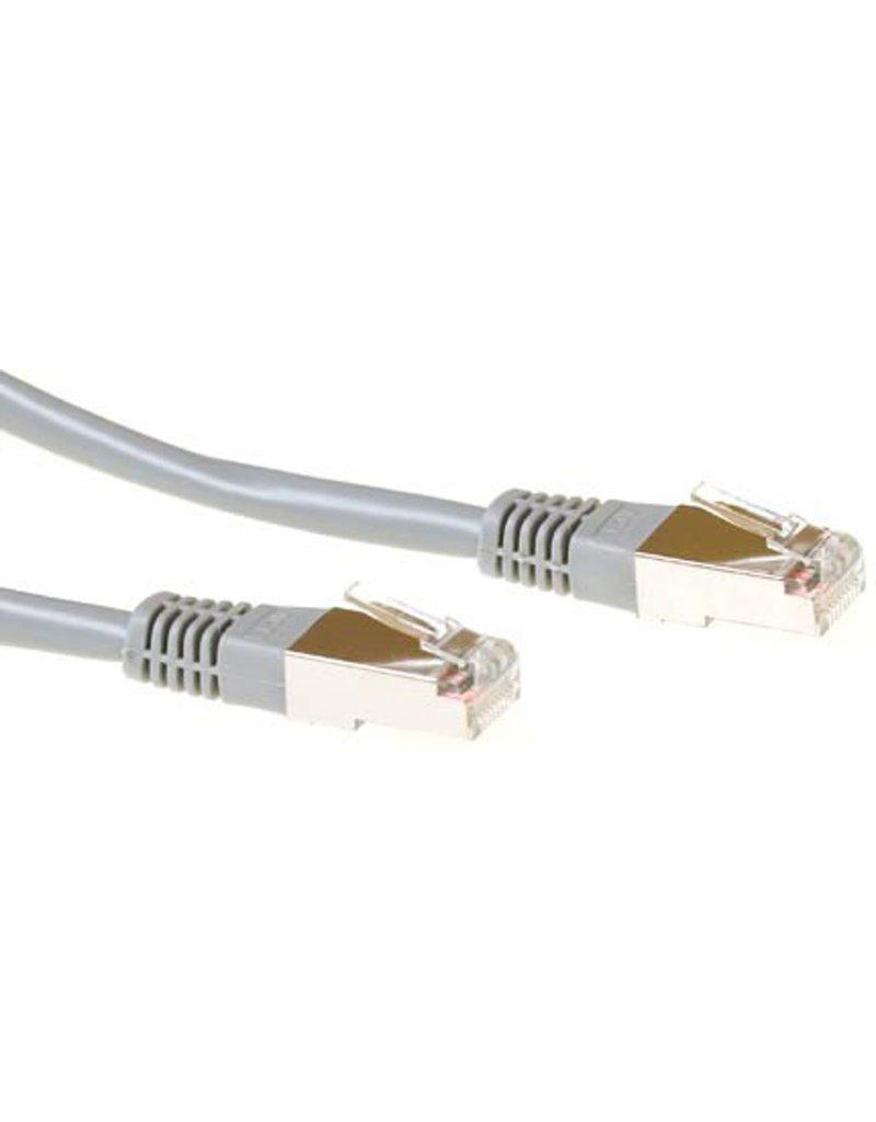IIGLO CAT5E F/UTP netwerkkabel  3 meter - Grijs