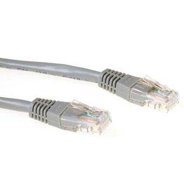 IIGLO ACT CAT6 U/UTP netwerkkabel  10 meter - Grijs