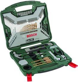 Bosch Bosch X-Line borenset - 103-delig - Titanium Plus Serie - Voor hout, metaal en steen
