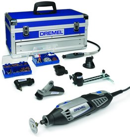 Dremel Dremel 4000 Multitool - Roterend - 175 W - Incl. toolbox met 128 accessoires.