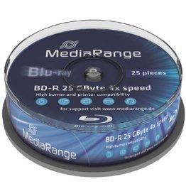 MediaRange MediaRange MR503 25GB BD-R 25stuk(s) Lees/schrijf blu-ray disc