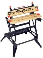 Black & Decker BLACK DECKER Workmate WM825-XJ opvouwbare werkbank - 2 Werkhoogtes – Tot 250kg