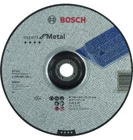 Bosch Bosch - Doorslijpschijf gebogen Expert for Metal A 30 S BF, 230 mm, 22,23 mm, 3,0 mm