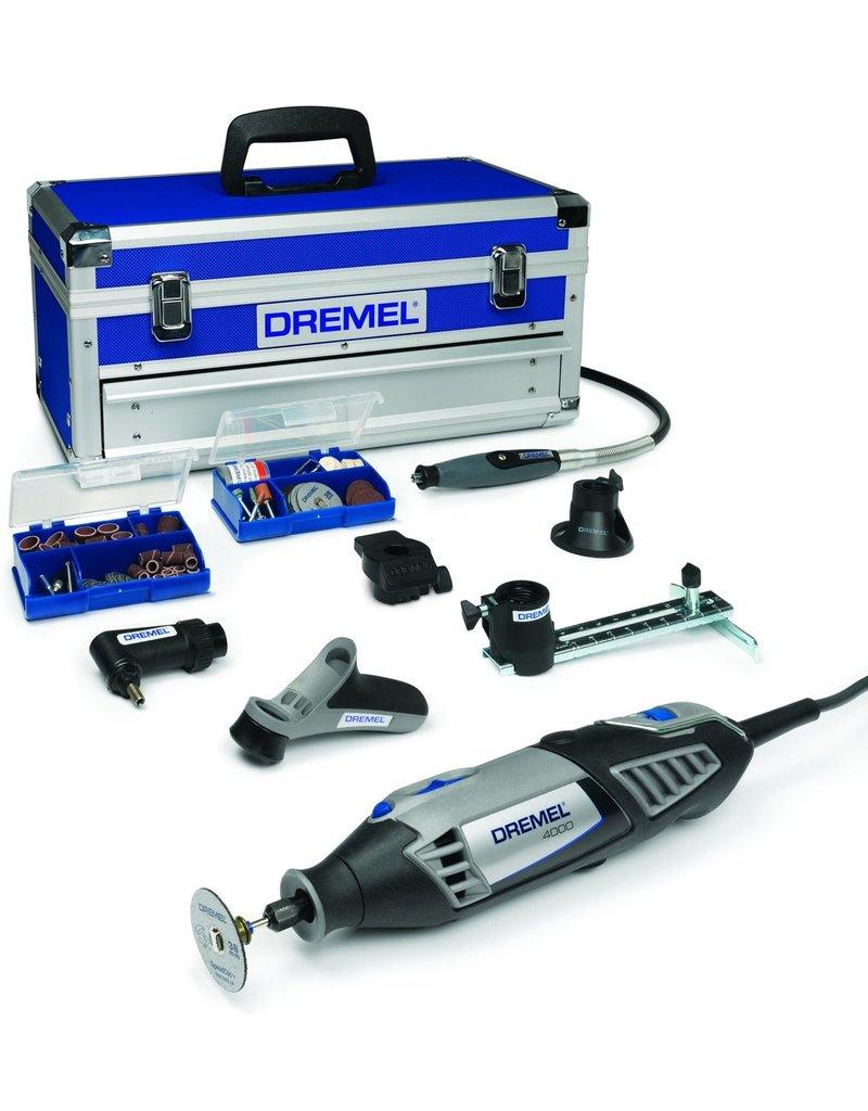 Dremel Dremel 4000 Multitool - Roterend - 175 W - Incl. toolbox met 128 accessoires. koopjeshoek