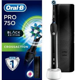 Oral B Oral-B PRO 750 Black CrossAction - Elektrische Tandenborstel