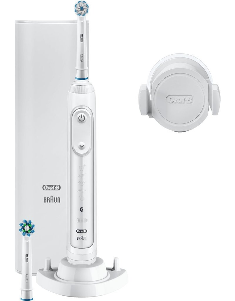 Oral-B Oral-B Genius 10100S Elektrische Tandenborstel Wit Powered By Braun