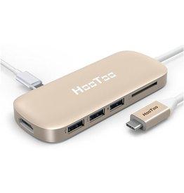 HOOTOO Hootoo USB-C HUB gold koopjeshoek