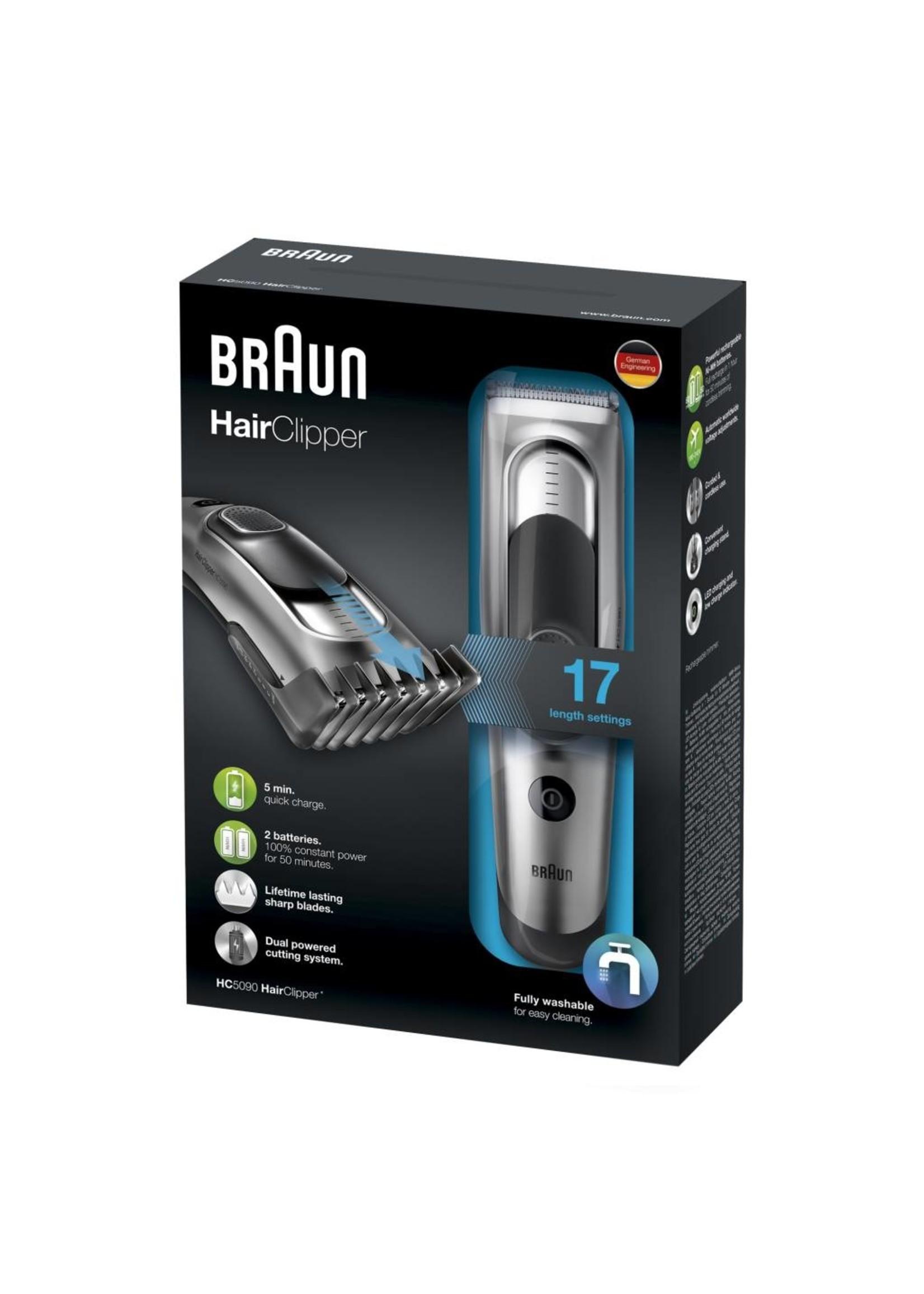 Braun Braun HC 5090 Tonduese Zwart, Grijs