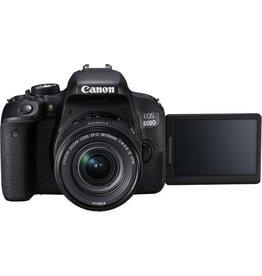 Canon Canon EOS 800D + EF-S 18-55mm spiegelreflexcamera Zwart
