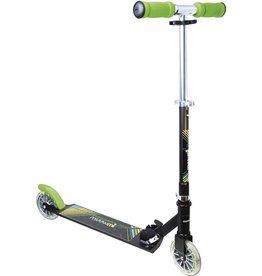 Muuwmi Muuwmi step - 125mm - Neon - met lichtgevende wielen