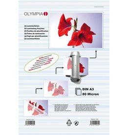 Olympia 1x100 Olympia Lamineerfolie DIN A4 80 micron