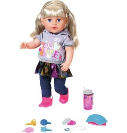 BABY born BABY born Soft Touch Sister - Blond - Babypop 43cm