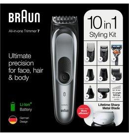 Braun Braun MGK7221 Donkergrijs - 10-in-1 Trimmer