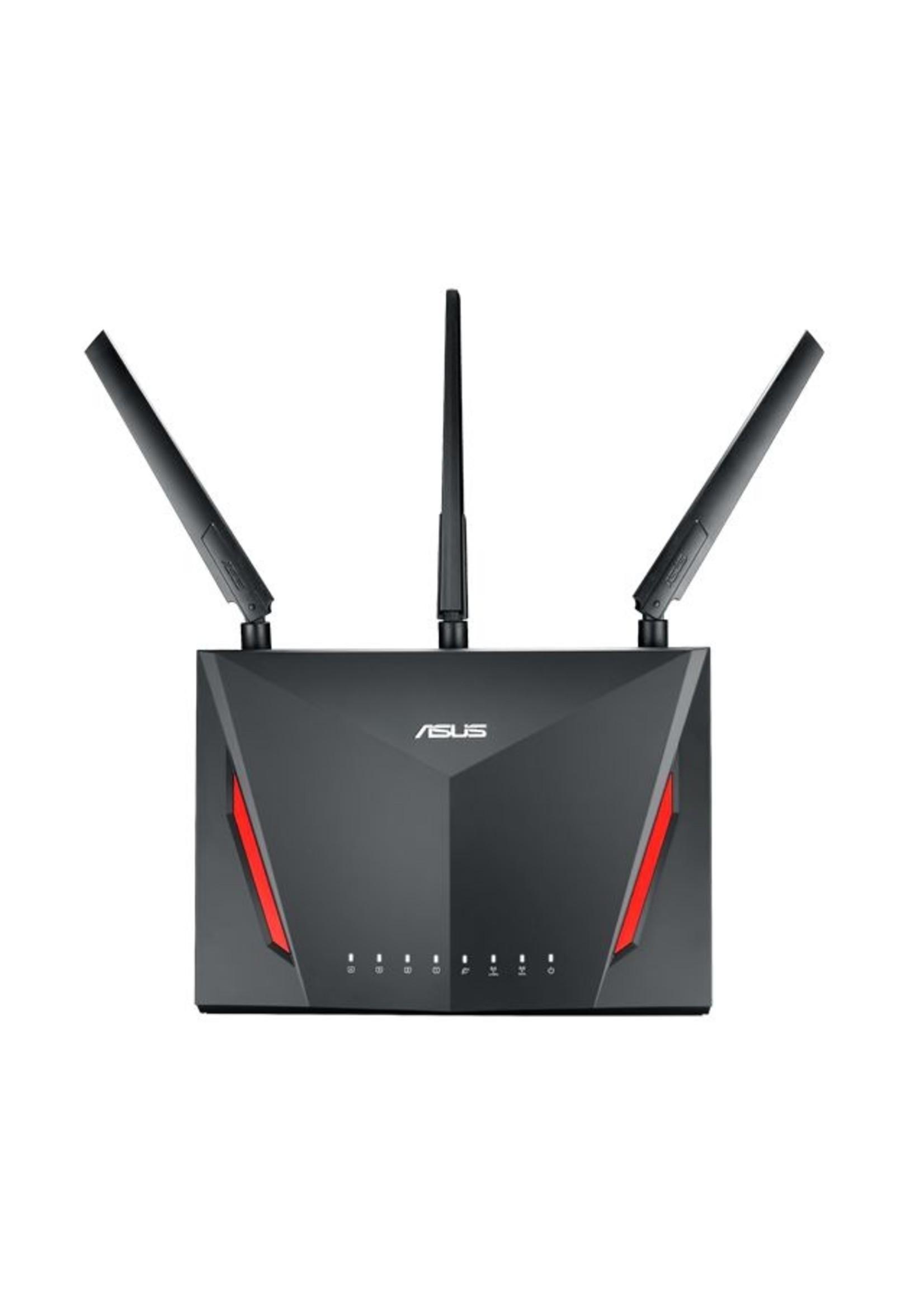 Asus ASUS RT-AC86U Dual-band Zwart draadloze router