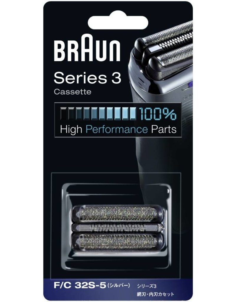 Braun Braun Series 3 - 32S Scheerkop Zilver