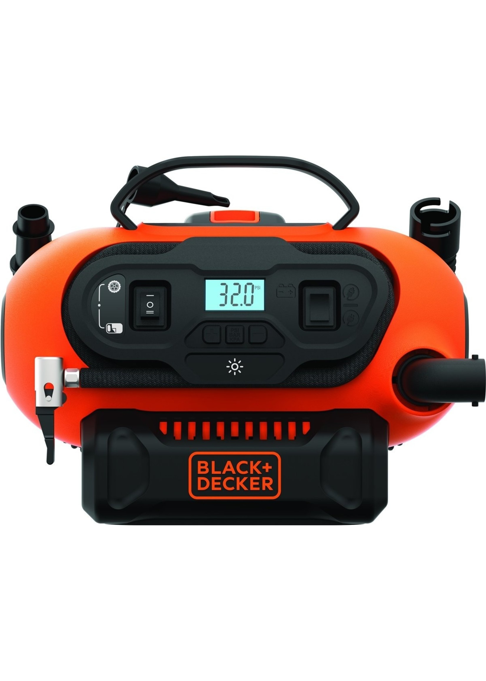 Black & Decker Black & Decker - BDCINF18N-QS - AC/DC compressor 160 PSI / 11.03 bar