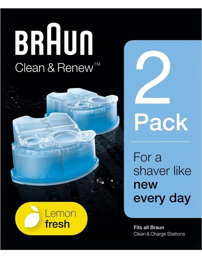 Braun Braun Clean and Renew 2-stuks