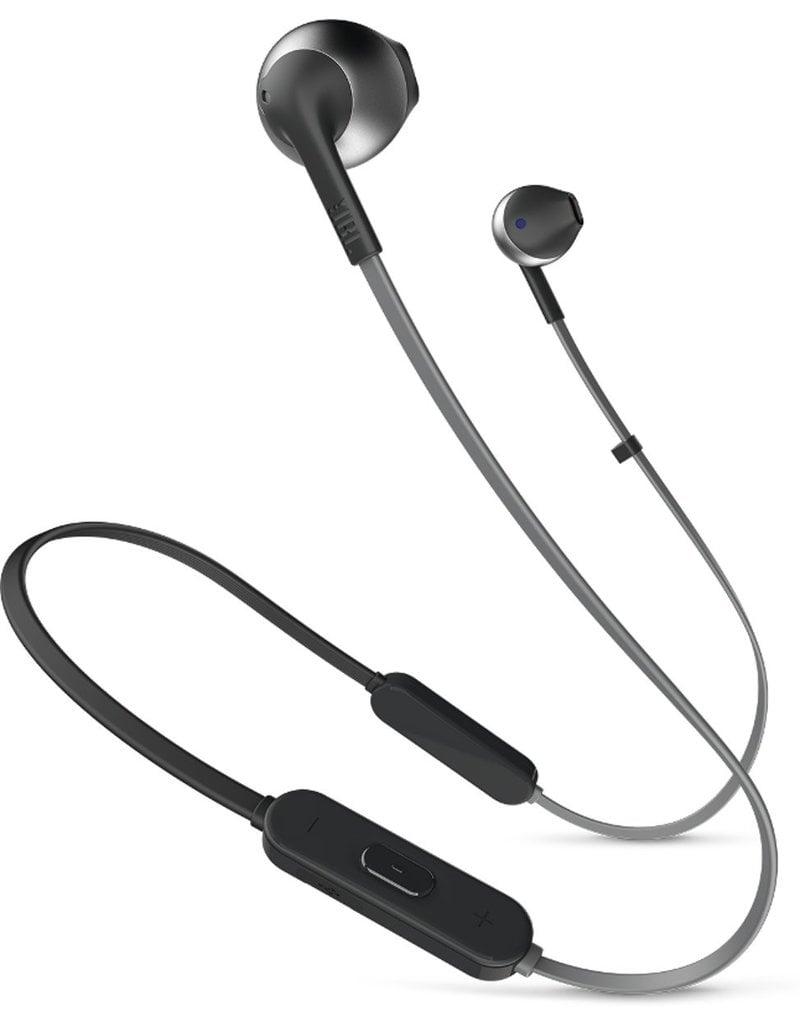 JBL JBL T205BT Zwart - In-Ear Bluetooth Headphone