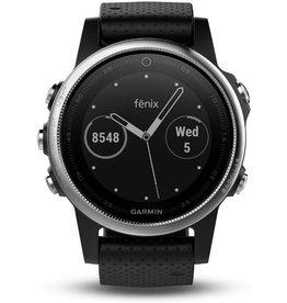 Garmin Garmin Fenix 5S - GPS multisport smartwatch met polshartslagmeter - 42 mm - Zilver/ Zwart