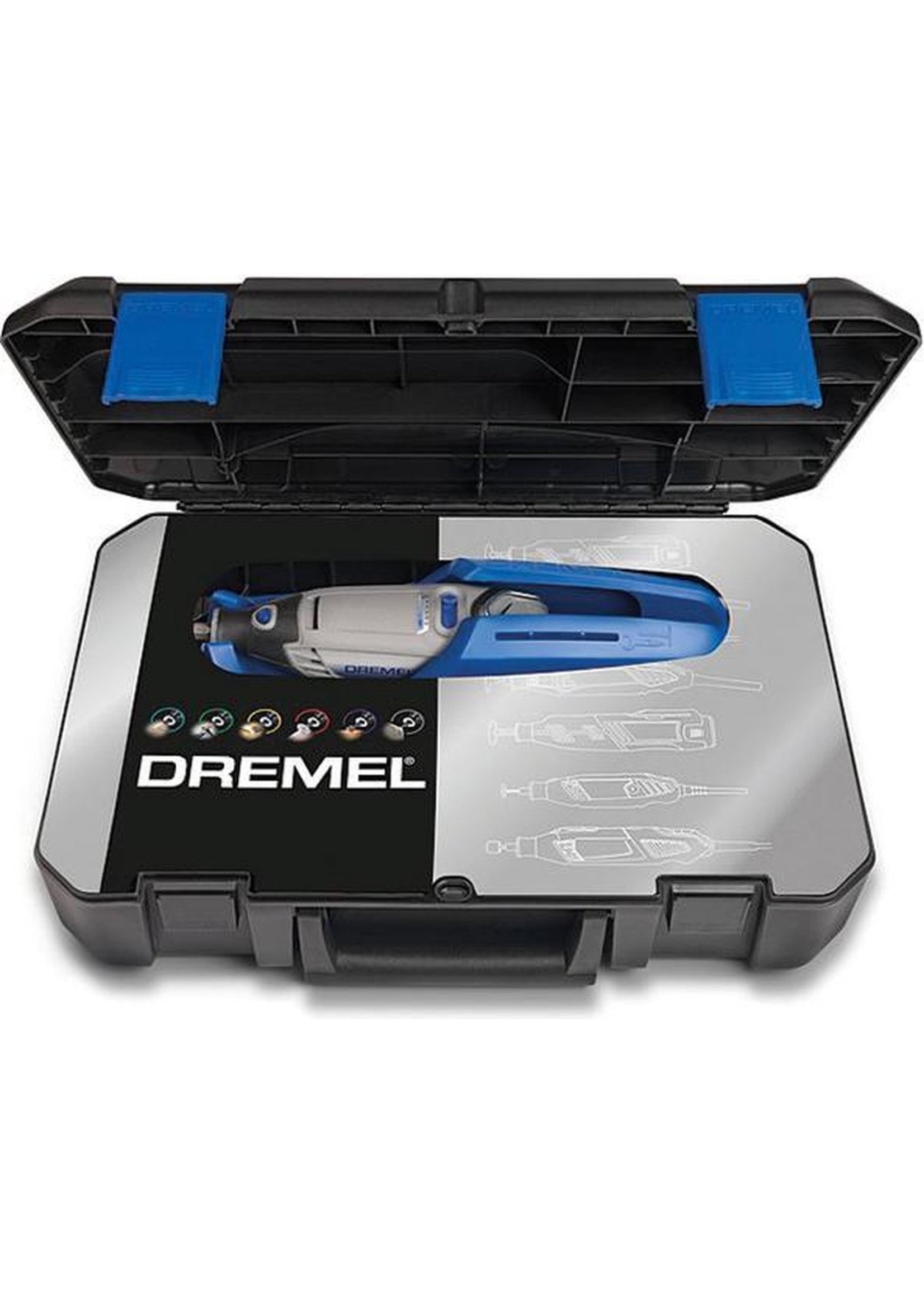 Dremel Dremel 4000 Multitool - Roterend - 175 W - Inclusief opbergtas met 65 accessoires