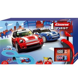 Carrera Toys Carrera First MINI Cooper 2,4 m - Racebaan