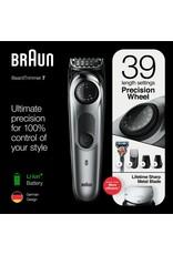 Braun BT7220 Zwart/Metaalgrijs - Baardtrimmer