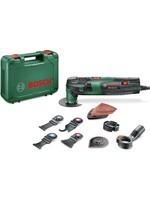 Bosch Bosch PMF 250 CES Multitool - Oscillerend - 250 Watt - Inclusief 10 accessoires en kunststof koffer
