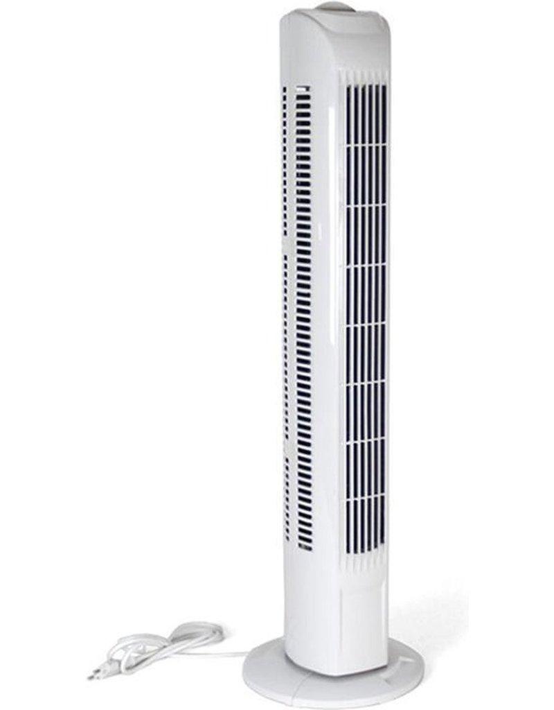 Gerimport Torenventilator met3 standen - wit