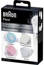 Braun Braun Face 80-m - 4 vervangende borstels - Bonuseditie