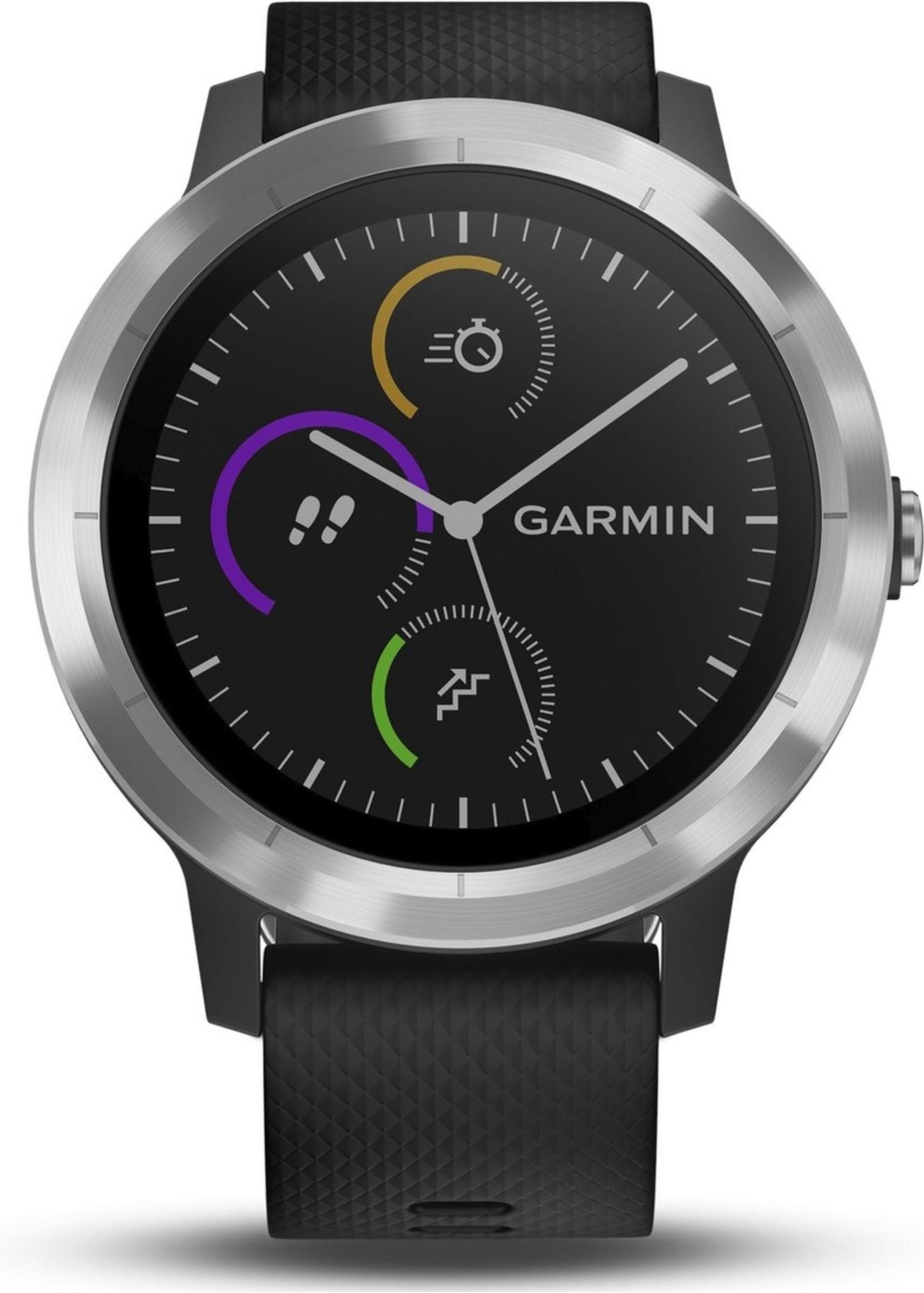 Garmin Garmin Vivoactive 3 - Smartwatch - 43 mm - Zilver koopjeshoek