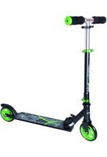 Muuwmi Muuwmi 2-wiel Kinderstep Voetrem Aluminium Zwart/groen koopjeshoek