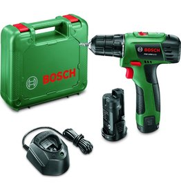 Bosch Bosch PSR 1080 LI-2 Accuboormachine - 10,8 V - Met 2 Li-Ion accu's