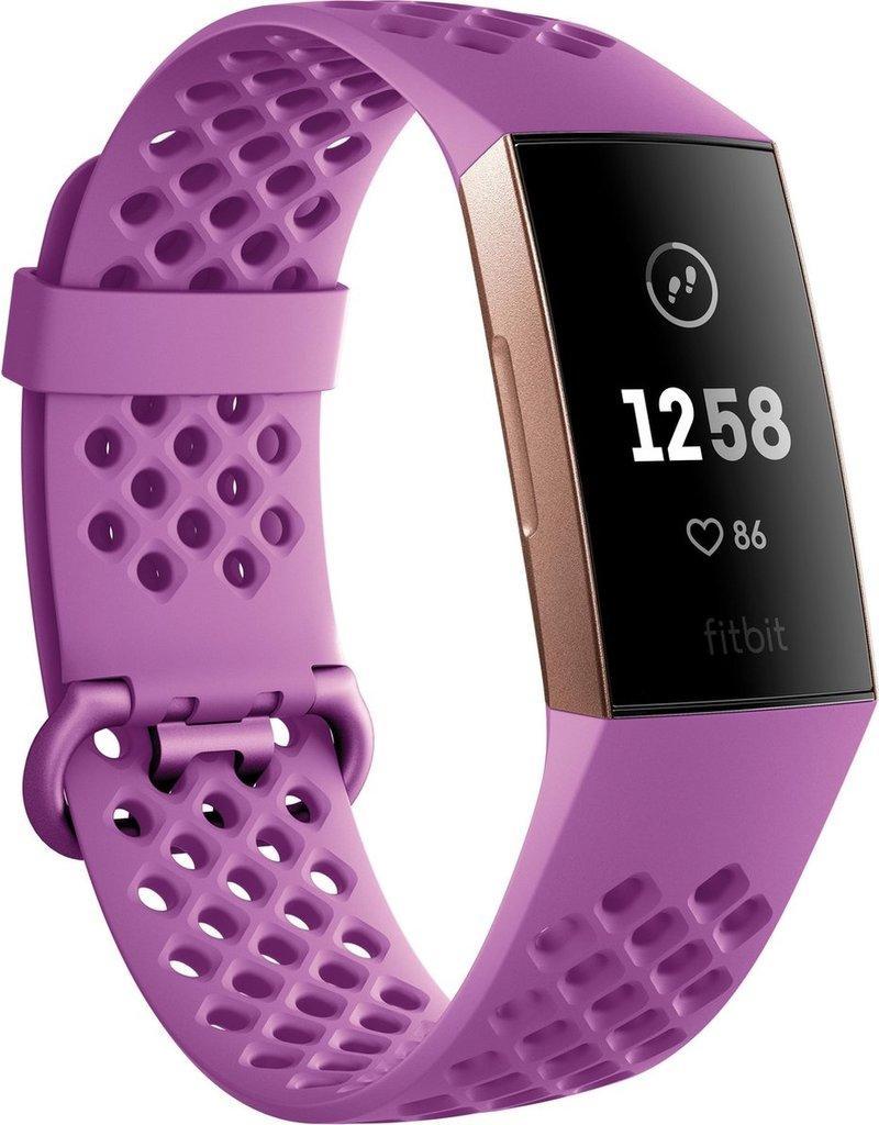 Fitbit Fitbit Charge 3 - Activity tracker - Roségoud koopjeshoek