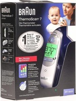 Braun Braun ThermoScan 7 - Thermometer - Wit