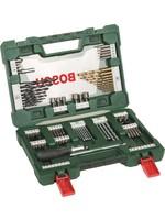 Bosch Bosch V-Line borenset - 91-delig - Titanium Plus Serie - Voor hout, metaal en steen