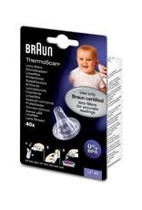 Braun Braun Navulset Lensfilters voor Oorthermometer -  Beschermkapjes Voor Braun Thermoscan 3 / 5 / 6 / 7 - LF20 LF40 - 40 Stuks