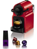 krups Krups Nespresso Inissia XN1005 - Koffiecupmachine - Rood koopjeshoek
